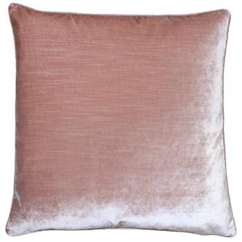 Blush velvet cushion - £27