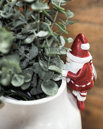 Santa Claus Pot Hanger