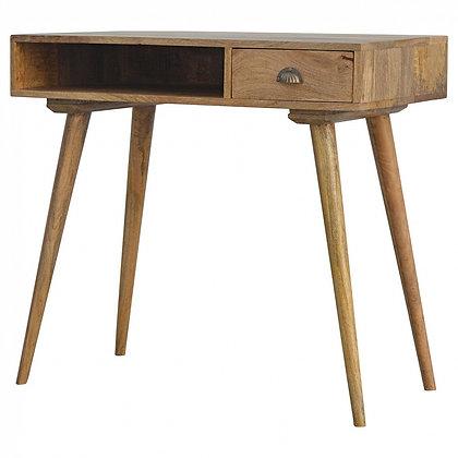 1 Drawer Shell Writing Desk