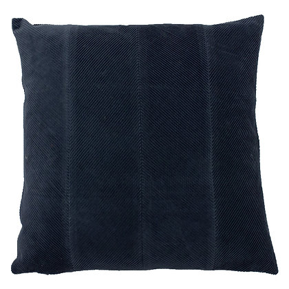 Navy Corduroy Effect 'Jagger' Cushion