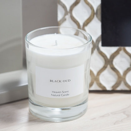 Black Oud Heaven Scent Candle