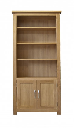 6' x 3' Bookcase with Doors
