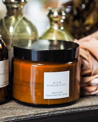 Luxury Black Pomegranate 3-Wick Candle