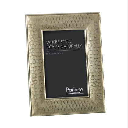 """Gold Dimples Photo Frame 4 x 6"""""""