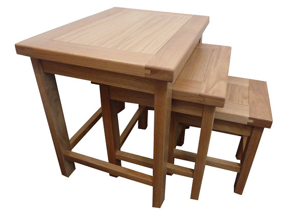 Thick Top Nest of Tables