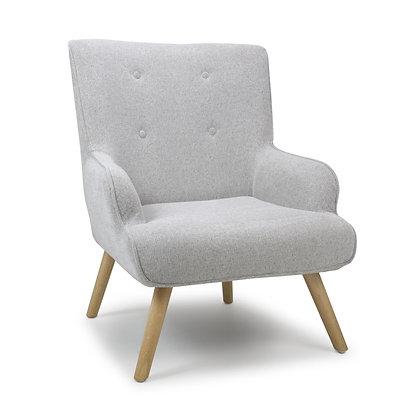 Chester Grey Flax Armchair