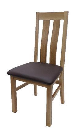 Twin Slat Oak Chair
