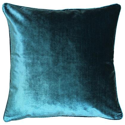 Teal Luxe Velvet Cushion
