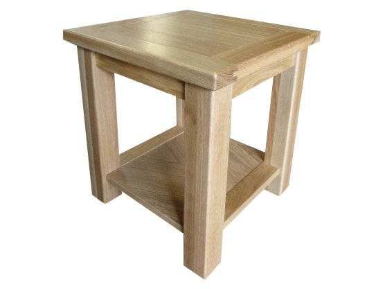 Thick Top Lamp Table