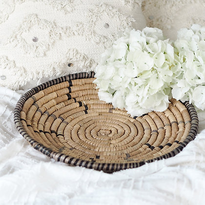 Woven Seagrass Alika Serving Tray