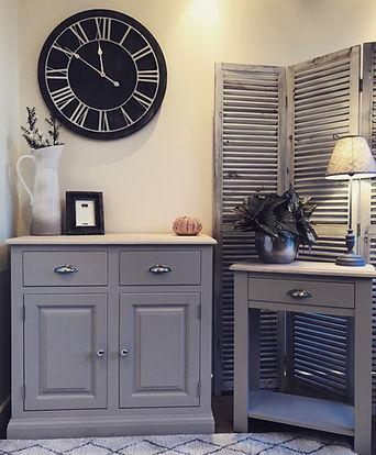 Grey furniture, painted furniture, furniture Bradford, furniture Leeds
