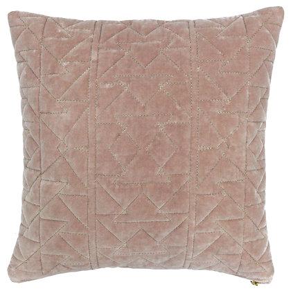 Blush Pink Aztec Print Cushion
