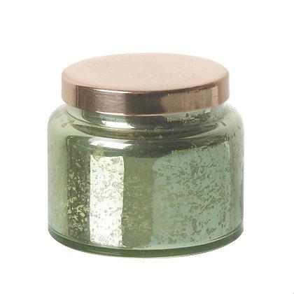 Vanilla Candle in Green & Copper Jar