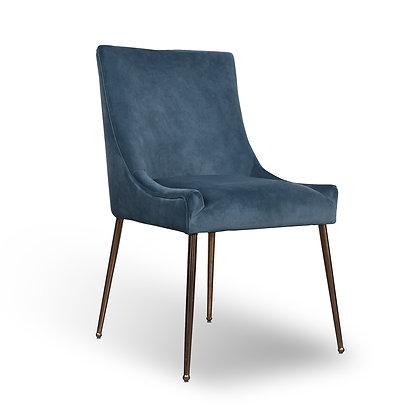 Caribbean Blue Accent Chair