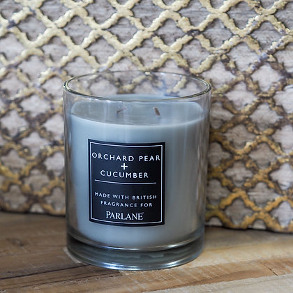 Large 2 Wick Orchard Pear + Cucumber Wax Candle