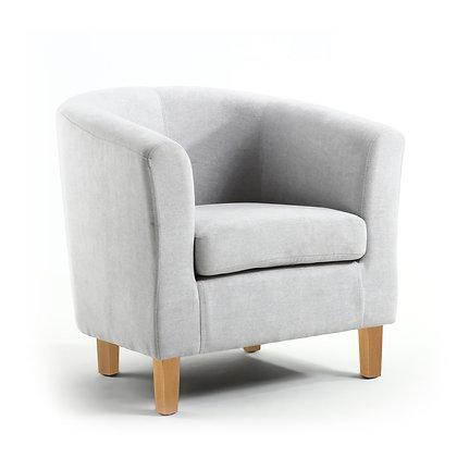 Silver Grey Tub Chair