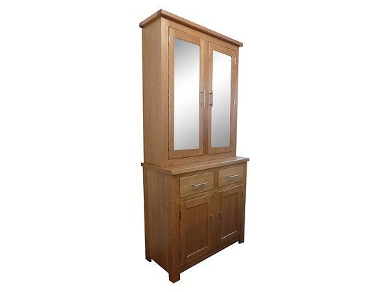 Thick Top Two Door Dresser Top