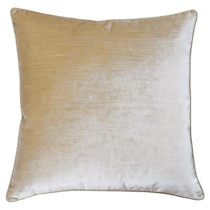Champagne Luxe Velvet Cushion