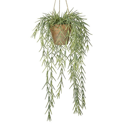 Faux Hanging Willow In Pot
