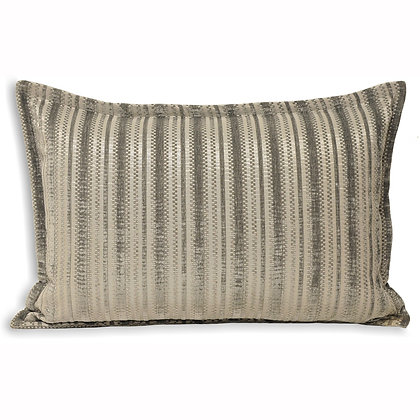 Silver/Gold Metallic Thread Cushion