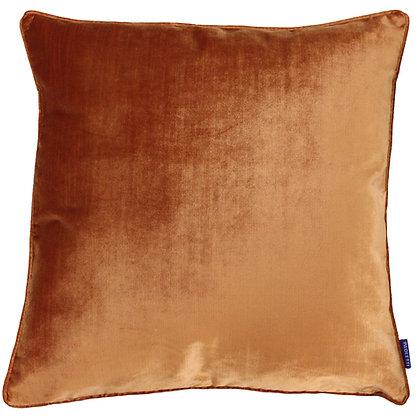 Rust Luxe Velvet Cushion