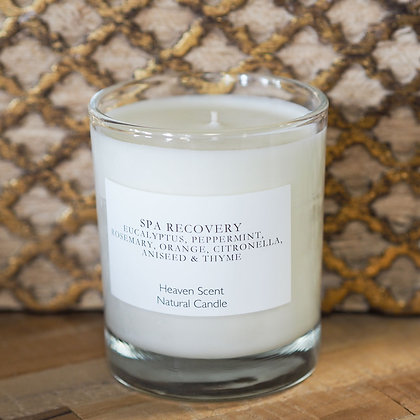 Spa Recovery Natural Candle