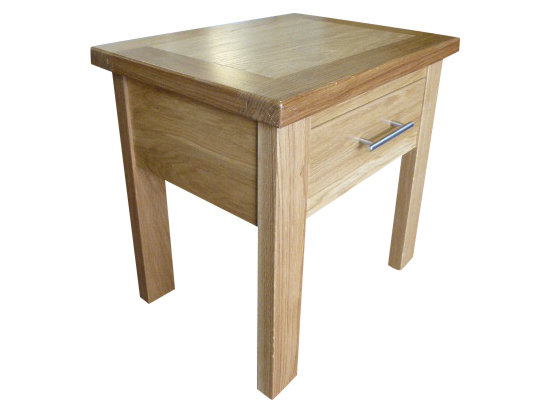 "Thick Top 20"" Side Table"