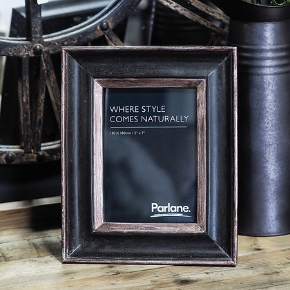 Black + Copper Photo Frame 5 x 7""