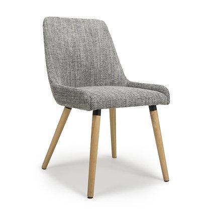 Calverley Grey Tweed Chair