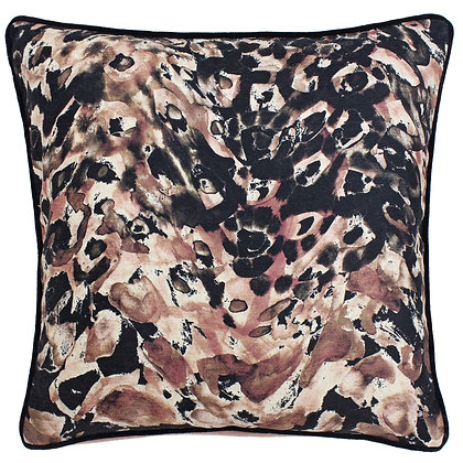 Watercolour Floral Print Cushion