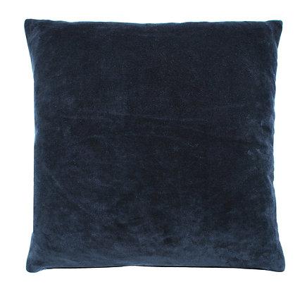 Indigo Velvet Cushion