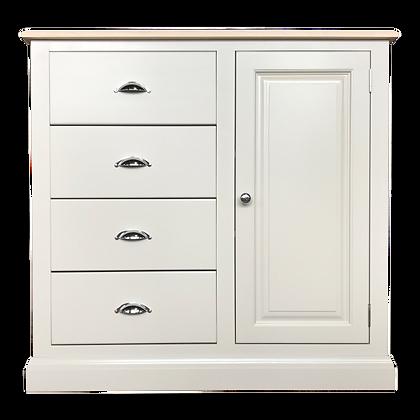Buttermere 4 Drawer, 1 Door Cupboard