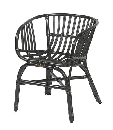 Lombok Dark Wood Chair
