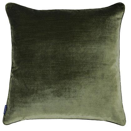 Olive Luxe Velvet Cushion
