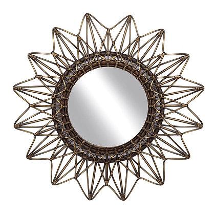 Rattan Bali Mirror