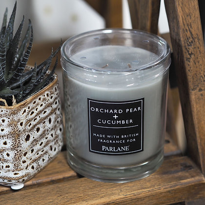 Orchard Pear + Cucumber Wax Candle