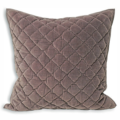 Plum Quilted Cushion