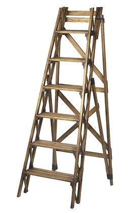 Oak Ladder Display