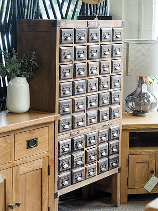 Apothecary 45 Drawer Storage Cabinet