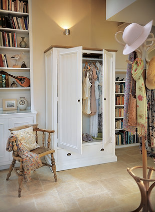 Litton Double Wardrobe with Drawer