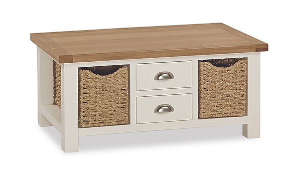 Skipton Large Basket Coffee Table