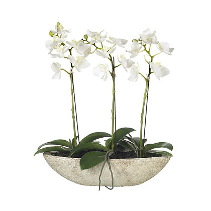 Artificial Potted Orchid Plant