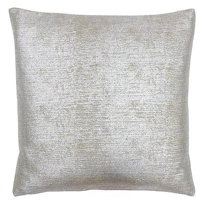 Silver Metallic Arora Cushion