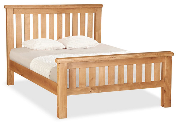 Settle Double Slat Bed