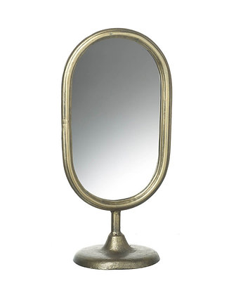 Olivia Small Gold Mirror