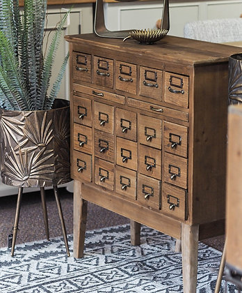 Multi Drawer Apothecary Chest
