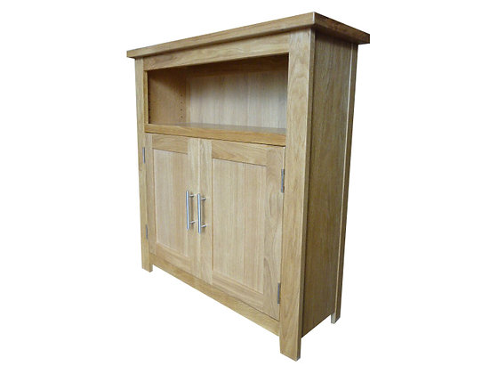 Thick Top 3'x3' Door Bookcase