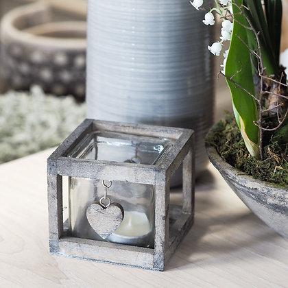 Rustic Wooden Tealight Holder