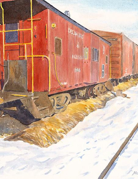 Oneonta Railroad Yard