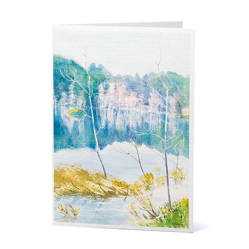 Crystal Palace Art Greeting Card